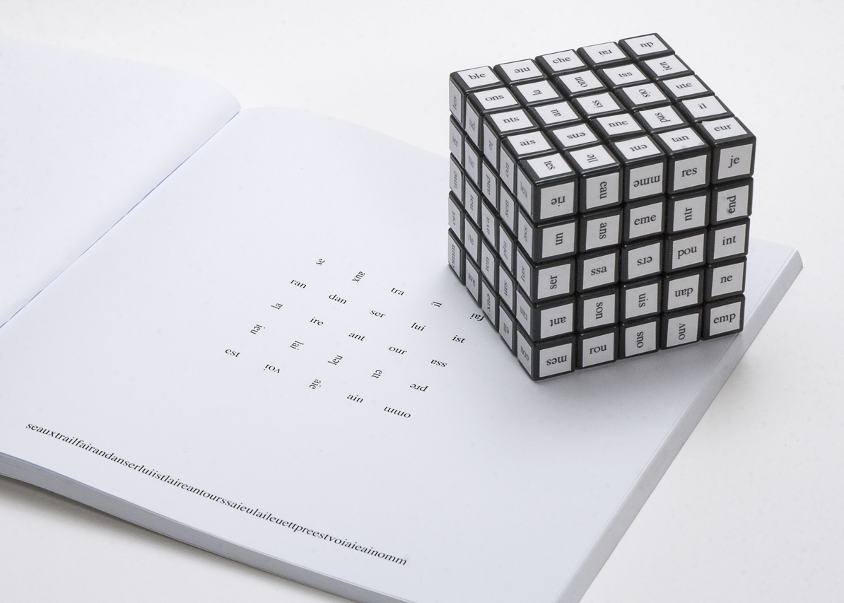 Alea: cube et édition de amélie dubois