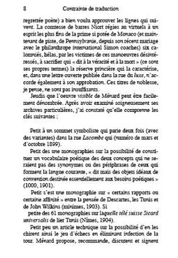 Pierre Ménard, auteur de quiète, 2008. Edition, 20 pages + couverture. 108 x 177 mm. Un texte de Borges, Pierre Ménard, auteur du Quichotte, est écrit par un logiciel de dictée vocale.